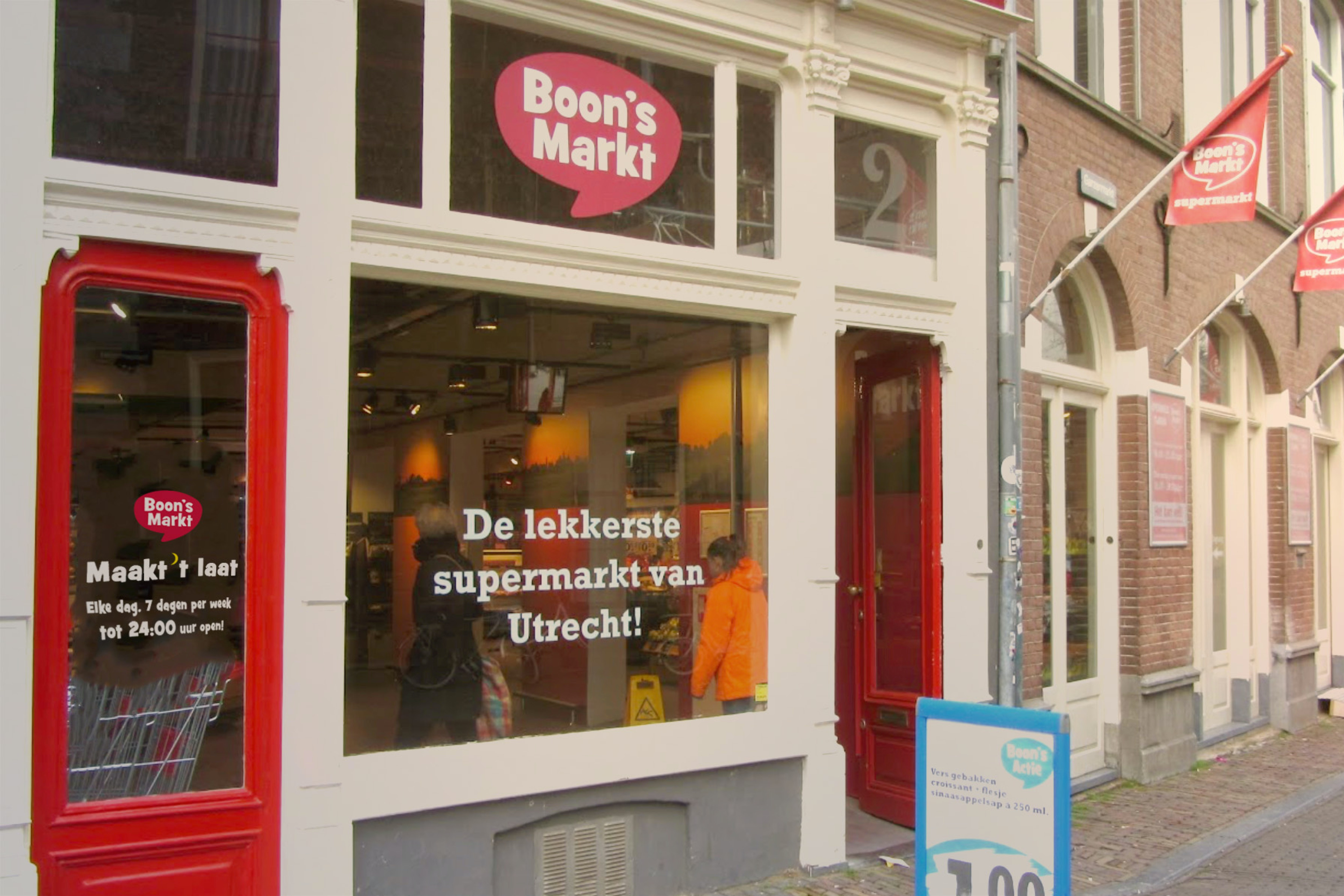 Boons Markt Utrecht Als Enige Supermarkt In Utrecht Elke Dag Tot