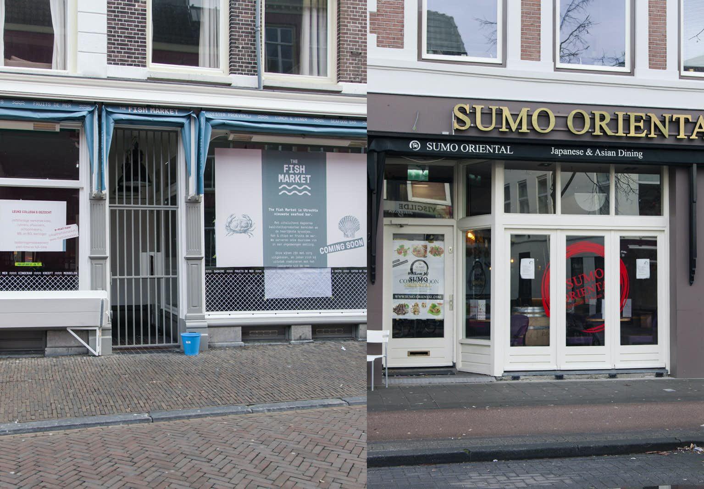 Bibob onderzoek houdt opening the fish market en sumo for One fish two fish restaurant