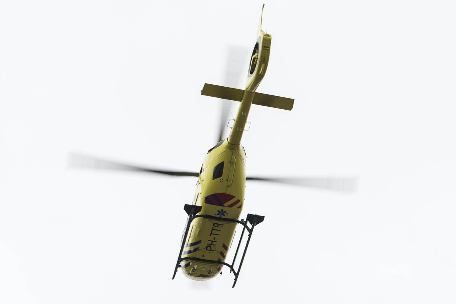 Traumahelikopter ingezet bij ernstig ongeluk op 5 Meiplein.