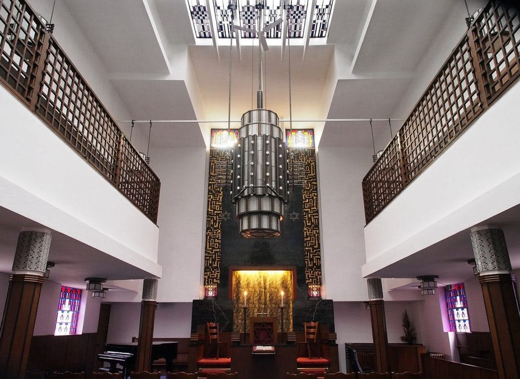 Broodhuis: oude synagoge is een Art Deco-tempel