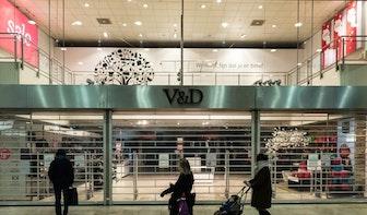 V&D na 118 jaar gesloten in Utrecht
