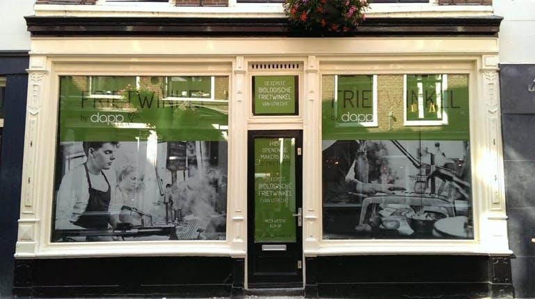 Eerste biologische Frietwinkel in Utrecht opent in augustus haar deuren in de Vinkenburgstraat