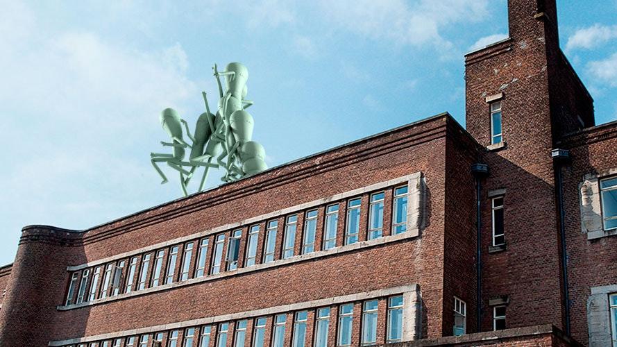 Een van deze kunstwerken komt op dak Rudolf Magnus. Welke vindt u het mooist?