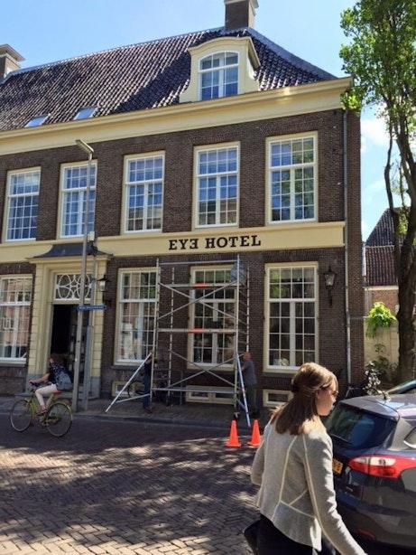 Ooglijdersgasthuis in Wijde Begijnestraat wordt Eye-hotel