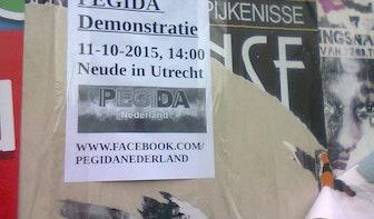 Extreem-rechtse organisatie PEGIDA demonstreert volgende maand op de Neude