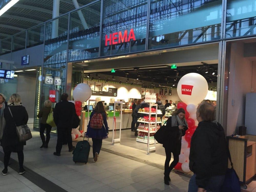 Hema opent haar 700ste winkel op Utrecht Centraal