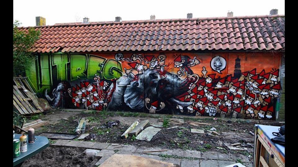 Graffiti-strijd tussen Utrecht en Rotterdam gaat door: 3-2