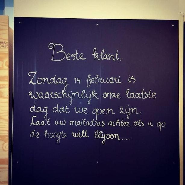 Doek valt voor Bag&Buy op de Twijnstraat; zondag de laatste dag