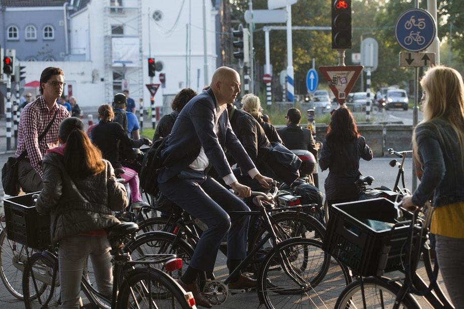 """Utrecht te voet: """"In deze stad kan ik me niet voortbewegen!"""""""
