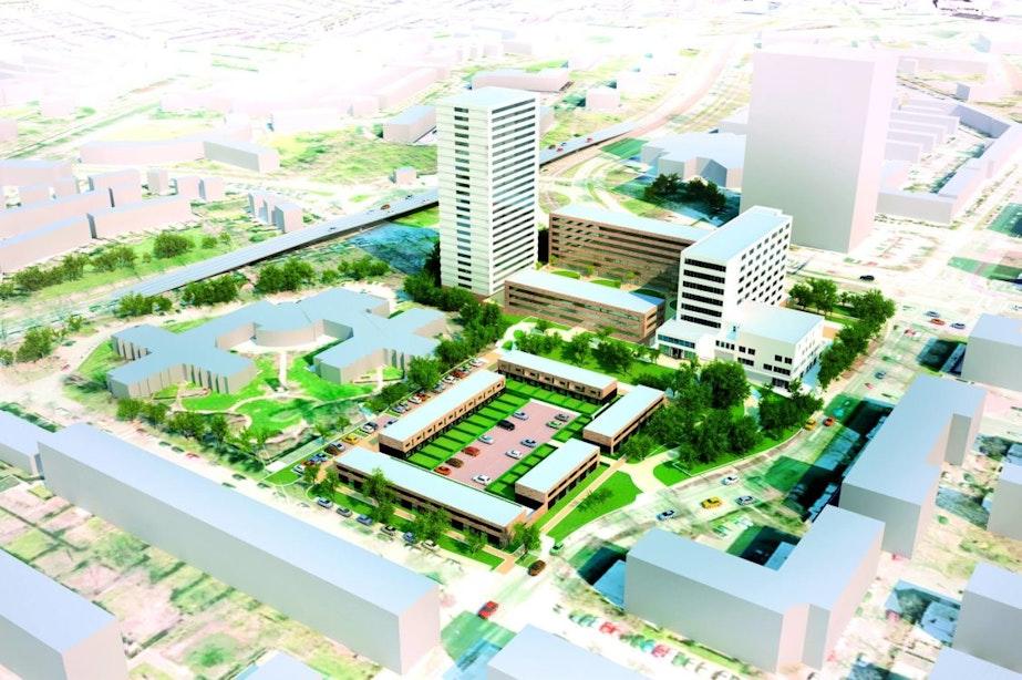 Buitenlandse investeerders voor studentenwoningen bij voormalig ziekenhuis Oudenrijn
