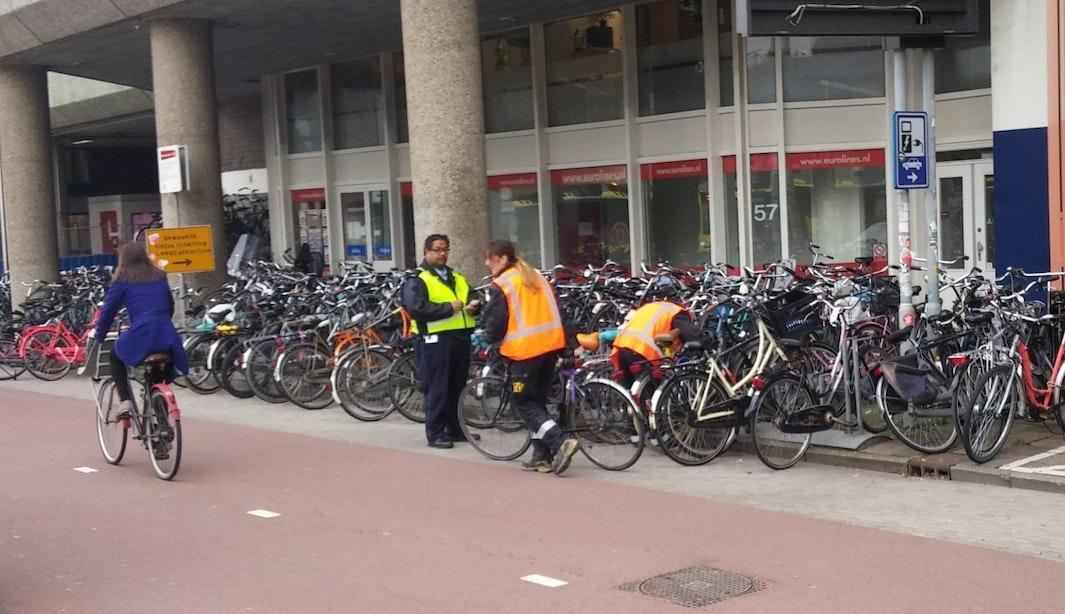 Gemeente Utrecht verwijderde 20.338 fietsen in 2014