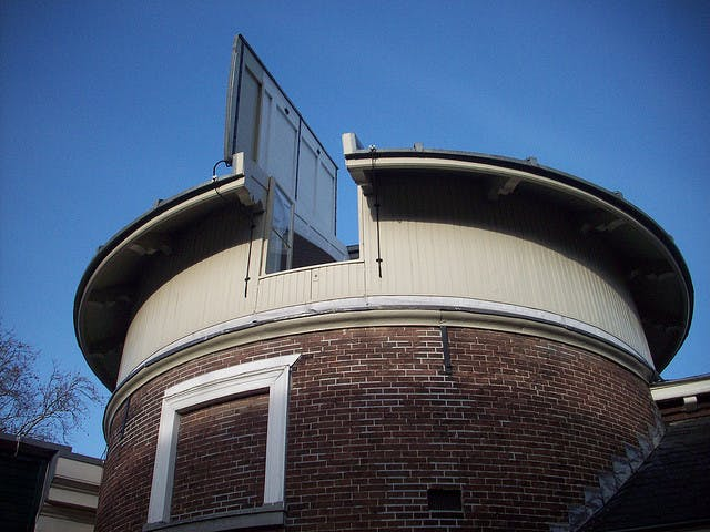 Sterrenkundig Instituut Utrecht weg uit Utrecht