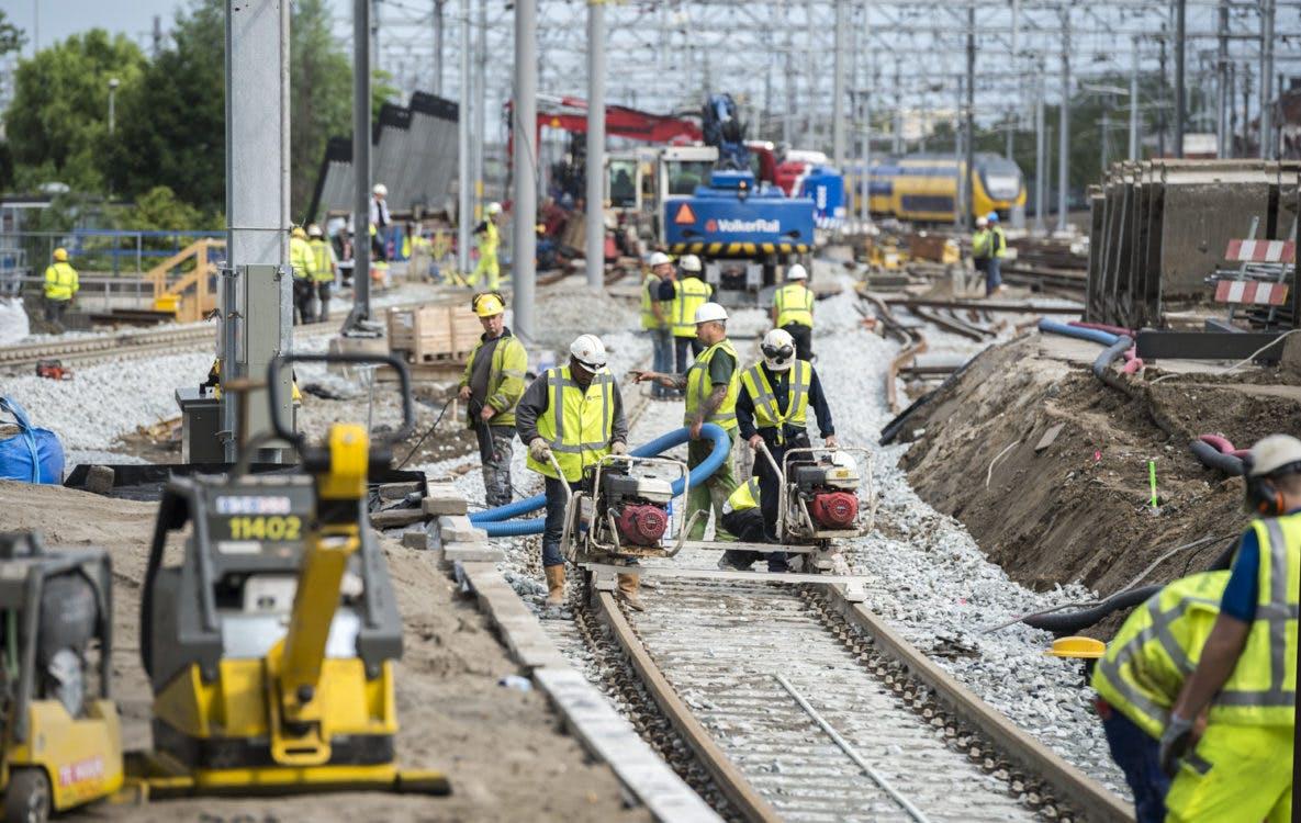 Aankomend weekend geen treinen tussen Utrecht en Schiphol