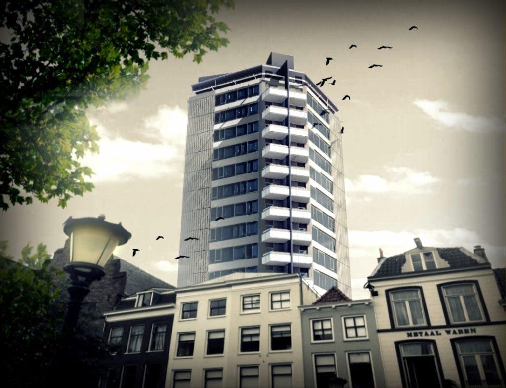 """Actie voor een rooftopbar op de Neudeflat: """"Utrecht kan wel wat grootstedelijke allure gebruiken"""""""