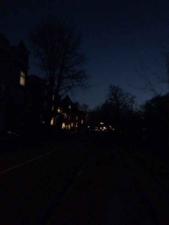 Update: Na Stroomstoring Zuilen ligt nu de straatverlichting in het centrum eruit