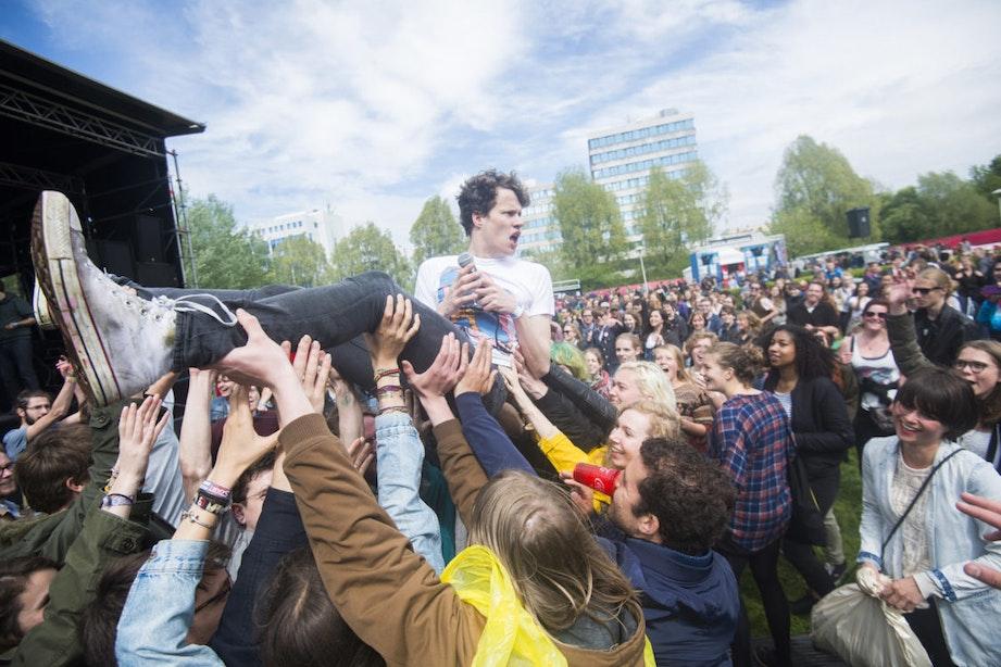 Foto's: 47.500 bezoekers op het Bevrijdingsfestival in Utrecht