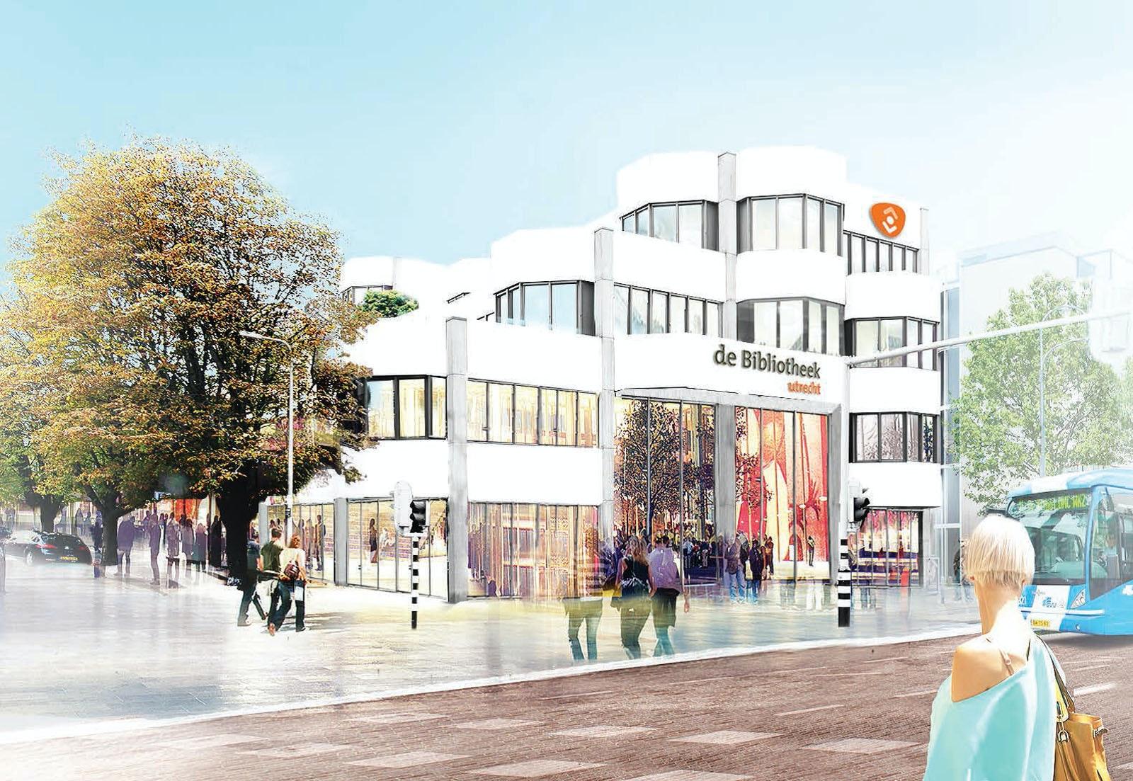 Zo ziet het nieuwe ontwerp van de centrale bibliotheek aan de ...