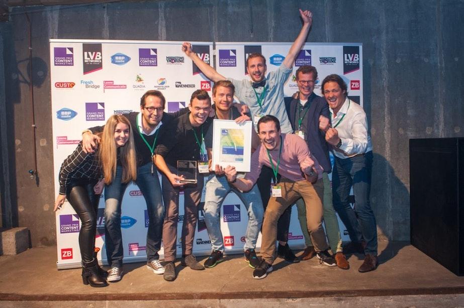 Utrechtse bureaus in de prijzen bij de Grand Prix Content Marketing