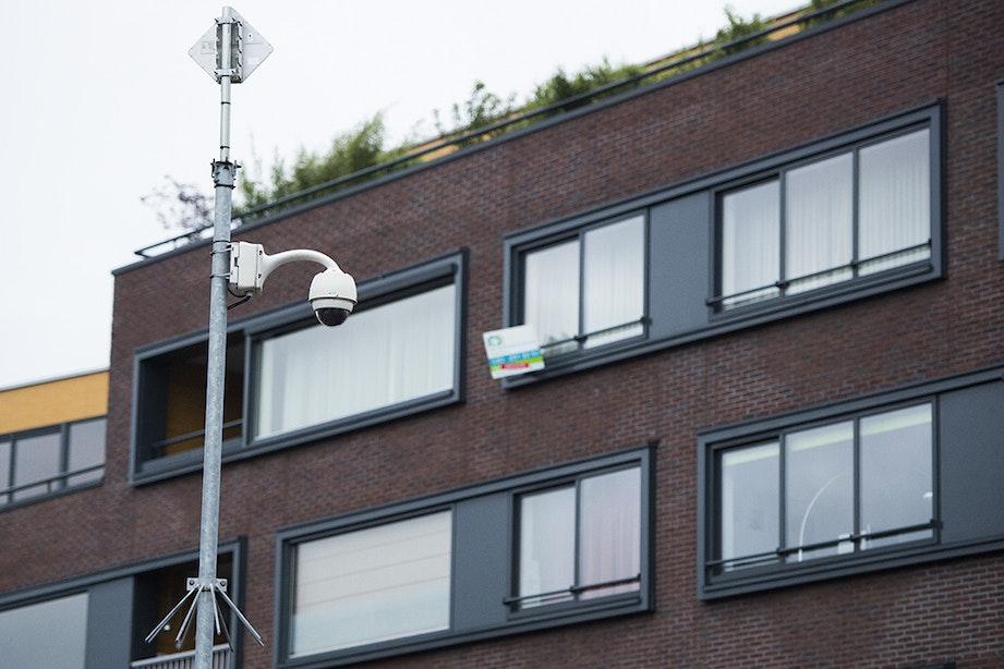 Flexibel cameratoezicht verhuisd van Seinedreef naar 't Goylaan