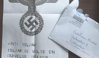 AlFitrah moskee in Overvecht ontvangt dreigbrief met hakenkruis