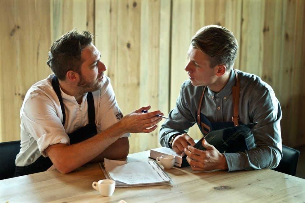 """Het weekend van Wes Schreutelkamp, van restaurant Watertoren: """"Twee vrienden die dit nu samen opstarten"""""""