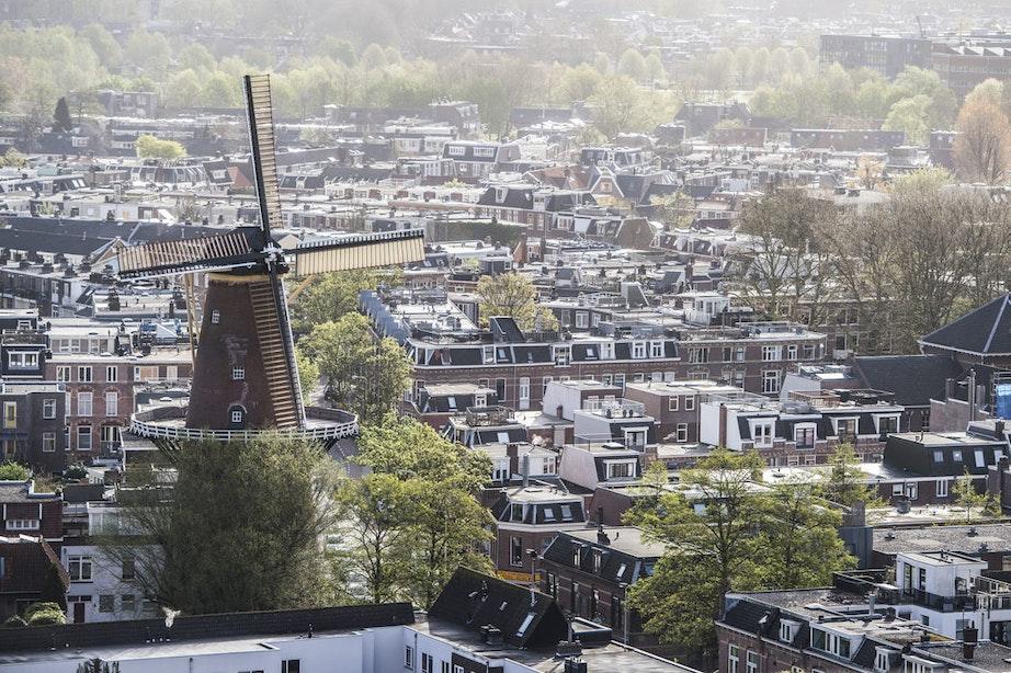Molen aan de Adelaarstraat in Utrecht draait weer af en toe