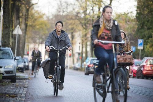 Fietsstad Utrecht: Op de fiets met wethouder Lintmeijer