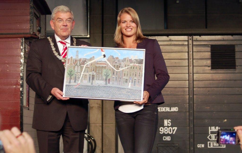 Utrechtse Olympiërs zondag gehuldigd op Stadhuisplein