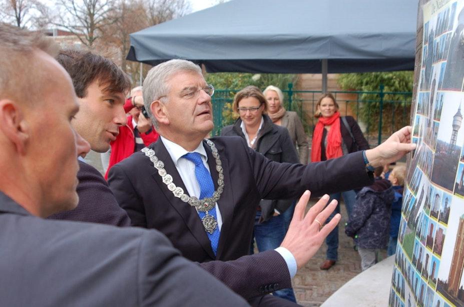 """Watertoren Rotsoord officieel geopend door burgemeester: """"Een prachtig verlengd stukje binnenstad"""""""