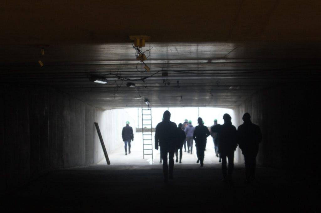 Een ondergrondse kijkje bij het Leidsche Rijn Centrum