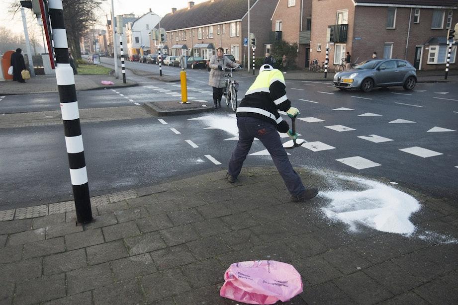 Lange tijd code oranje in regio Utrecht vanwege gladheid; inmiddels geldt code groen