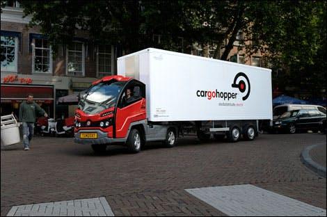 Cargohopper Utrecht in top 100 beste duurzame innovaties wereldwijd