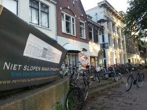 Ruim 800 handtekeningen tegen sloop Van Sijpesteijnkade
