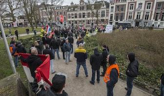 Demonstratie tegen vluchtelingenopvang Utrecht rustig verlopen