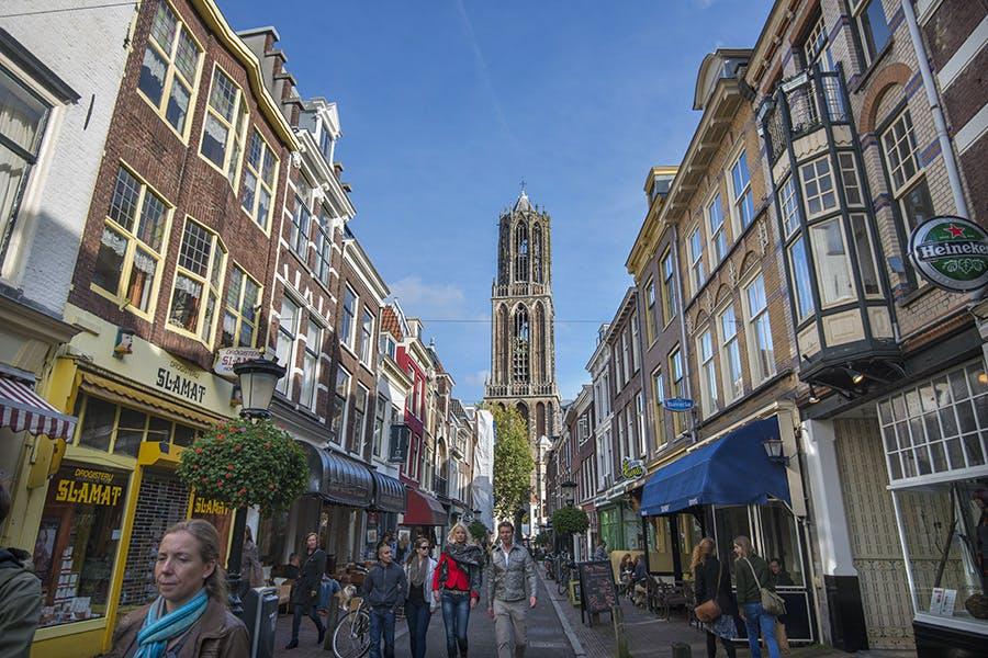 Utrechtse binnenstad wordt één groot wandelgebied