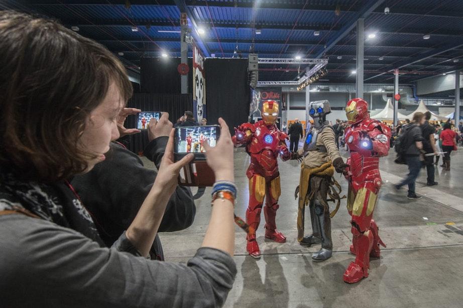Foto's: Duizenden mensen op de tweede editie van Dutch Comic Con