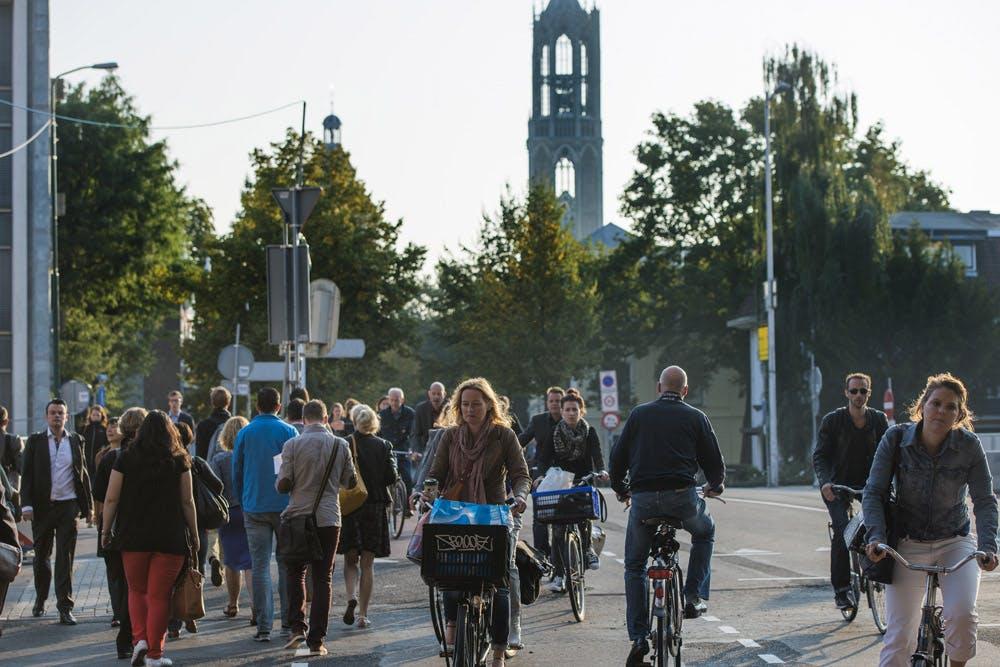 Eerste snelfietsroute komt tussen Utrecht en Amersfoort