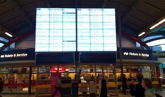 Iconisch informatiebord Utrecht CS verdwijnt woensdagavond