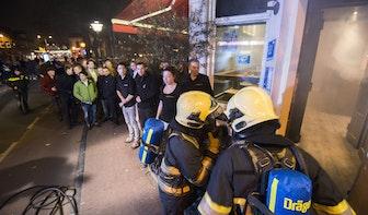 Foto's: Ontruiming café Heerenplein Lucas Bolwerk goed verlopen; 1 gewonde