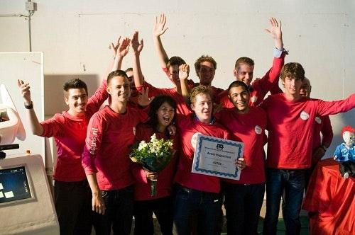 Avans Hogeschool winnaar RobotMatch 2012