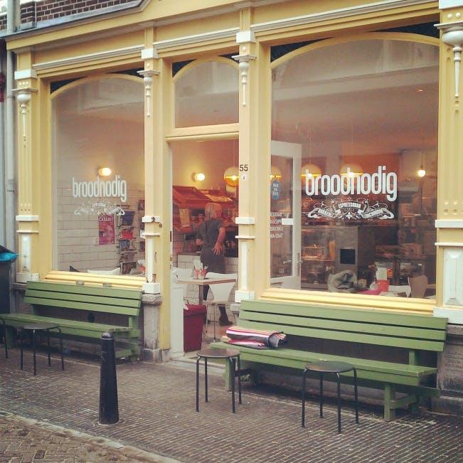 Jette en Jildou zijn terug en drinken koffie bij Broodnodig in Wijk C: Verborgen pareltje in koffietentjesland