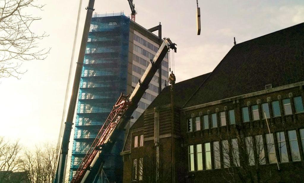 Neudeflat krijgt een torenkraan op dak