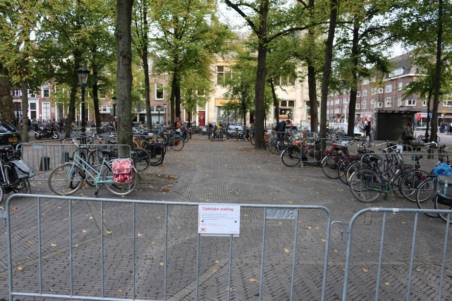 200 extra fietsparkeerplaatsen op Janskerkhof