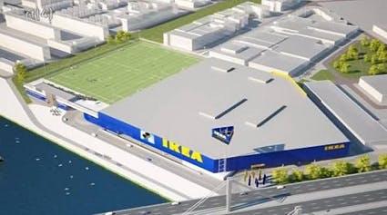Uitbreiding IKEA officieel van start