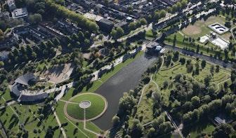 Cirkels in Julianapark en Griftpark moeten Utrechters helpen anderhalve meter afstand te houden