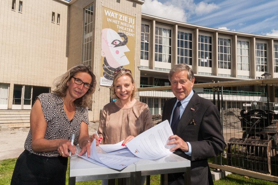 Stadsschouwburg en Rabobank willen jongeren in aanraking brengen met cultuur