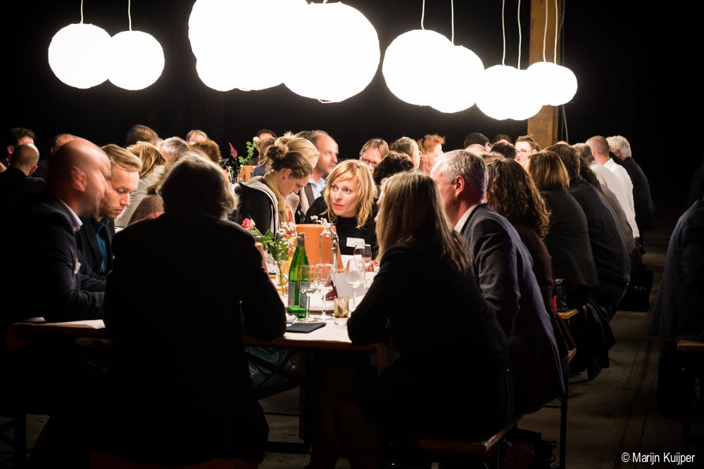 Het vastgoeddiner van de Utrechtse Ruimtemakers: afdwingen van de nieuwe tafelschikking