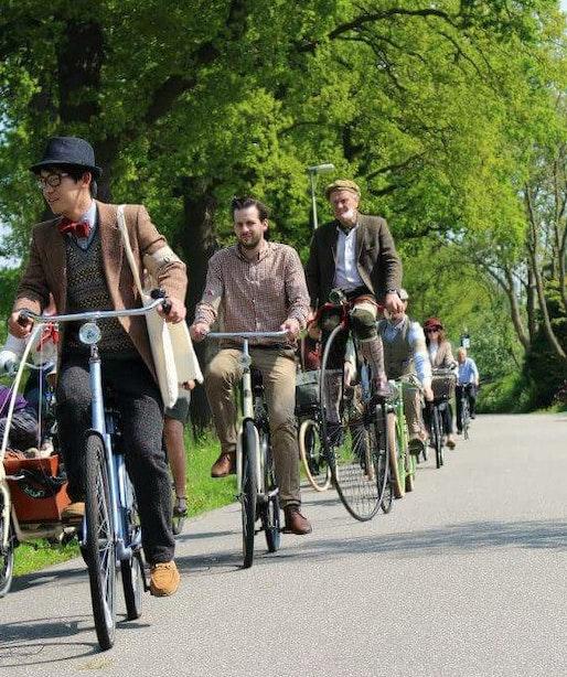 Leesvoer had een mooie moederdag dankzij de Tweed Ride door Utrecht