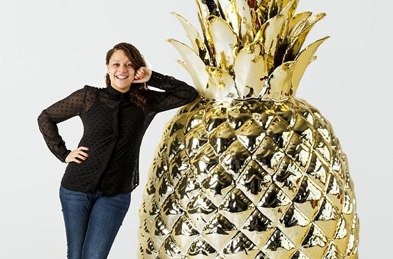 Zzp'er in Utrecht – Sayna de Voogd: 'Ananasmarketing? Ja dat klopt, ik ben Ananasmarketeer'