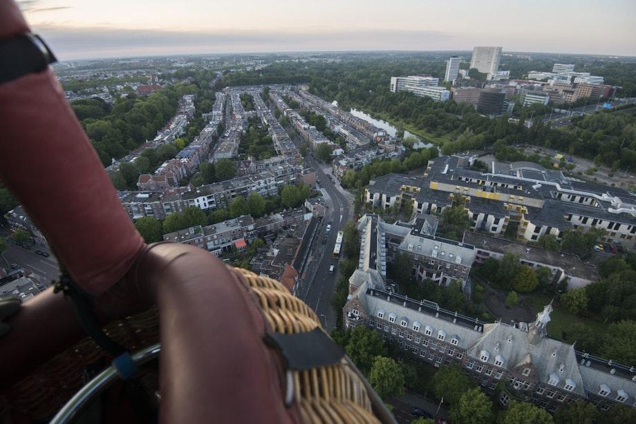 Foto's: DUIC vloog mee met de nijntje-luchtballon over Utrecht